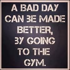 Exercise can positively impact any given day.