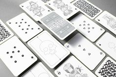 Oksal Yesilok, jeune designer Turc, présente un jeu de cartes hors du commun liant design, concept et illustration ; Voici Whimsical Playing Arts.