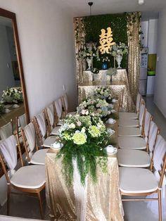 Wedding Gate, Decor Wedding, Dream Wedding, Wedding Decorations, Table Decorations, Wedding Ideas, Fantasy Wedding, Wedding Welcome, Tea Ceremony