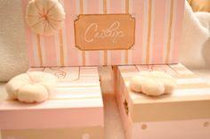 sweet handpainted wood boxes <3