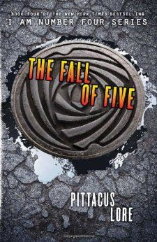 The Fall of Five (Lorien Legacies, Book 4) (I Am Number Four)  The Fall of Five is the fourth novel in the New York Times bestselling I Am Number Four series by Pittacus Lore. The Garde are finally reunited, but do they have what it takes to win the war against the Mogadorians?  John Smith—Number Four—thought that things would change once the Garde found one another. They would stop running. They would fight the Mogadorians. And they would win.