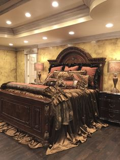 Luxury Bedding in Gorgeous Chenille Fabrics, Velvet, Silk, Faux Mink. Old World Bedding at it's Best! Reilly-Chance Collection is Defining Luxury in Home Decor! New Furniture, Bedroom Furniture, Bedroom Decor, Bed Linen Sets, Bed Sets, Luxury Bedroom Design, Modern Bedroom, Bedroom Sets, Dream Bedroom