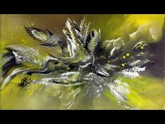 In My Mind-Abstract Acrylic Painting - Abstrakte Acrylmalerei - YouTube