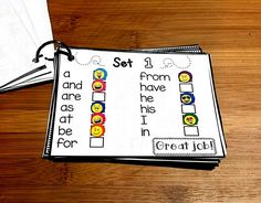 Kids color or add stickers to keep track of mastered sight words. Add to my sight word sentence flashcard rings to help motivate students! Sight Word Centers, Sight Word Practice, Sight Word Games, Sight Word Activities, School Carnival Games, Pre Primer Sight Words, Sight Word Sentences, Icebreaker Activities, Christmas Games For Kids
