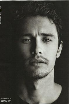 James Franco- Man, I love this beautiful little weirdo!