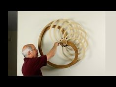 Kinetic Sculpture by David C. Roy - All Sculptures | Wood That Works | Kinetic Art - Nautilus