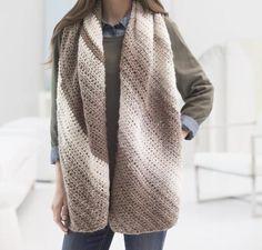 Diagonal Shaded Shawl Crochet Kit