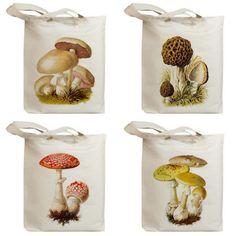 Mushroom totes