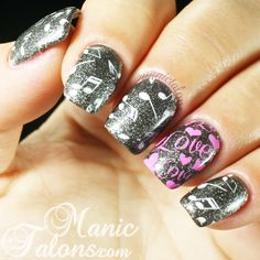 Music and Love Anniversary Mani
