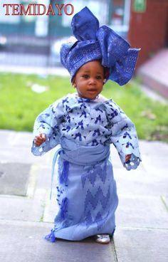 Nigerian baby ~African Prints, Ankara, kitenge, African women dresses, African fashion styles, African men fashion, Nigerian style, Ghanaian fashion ~DKK