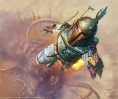 """""""The Sarlaac found me somewhat indigestible."""" Boba Fett"""