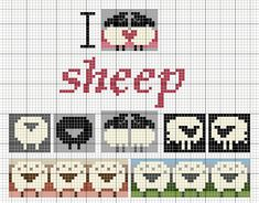 Ravelry: Love sheep pattern by Eve Laine Sheep Cross Stitch, Cross Stitch Animals, Cross Stitch Embroidery, Cross Stitch Patterns, Motif Fair Isle, Fair Isle Chart, Fair Isle Pattern, Fair Isle Knitting Patterns, Knitting Charts