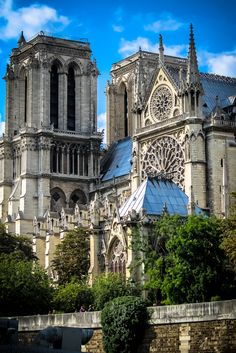 France, Paris side view of Notre Dame from the river Places Around The World, Oh The Places You'll Go, Places To Visit, Around The Worlds, France Love, Paris France, Monuments, Paris Love, Paris Ville