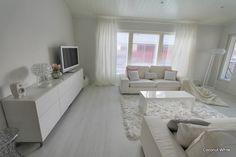 Coconut White: Uusi valkoinen olohuone