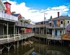 While traveling in Maine, I took this photo of the buildings along the Kennebunk River, in Kennebunkport. I was drawn to the quaint old buildings with their splash of color. This photo would make a beautiful addition to your home décor. If you love New England like I do, this fine art print is a perfect match for you! This gorgeous print will bring the quaint feeling of the Northeast into your home.
