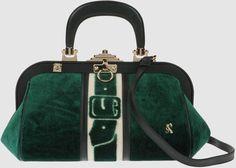 Roberta Di Camerino  Green Large Fabric Bag