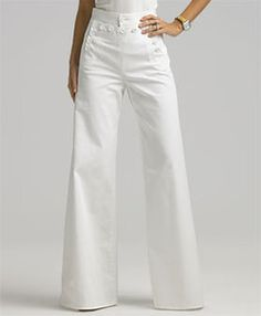 high waisted pant~accentuates the only thing I have going for me, a small waist :)