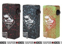 Vapor Joes - Daily Vaping Deals: ROLLOUT: THE TUGBOAT STYLED MECHANICAL BOX MOD