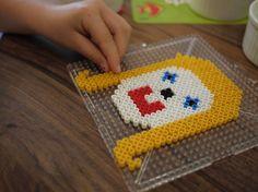 DIY Kids Craft - Make A Self Portrait With Perler Beads