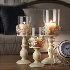 Cheap tall glass candlesticks, Buy Quality white candle holder directly from China candle holders Suppliers: STAYGOLD Vintage Home Decor Romantic Wedding Decoration Candle Holders White Candle Holders Tall Glass Candlesticks Metal Crafts Elegant Candles, Candle Decor, Tall Glass Candlesticks, Elegant Candle Holders, Glass Candle, Lace Candles, Cheap Candle Holders, Candle Stand, Glass Candle Holders