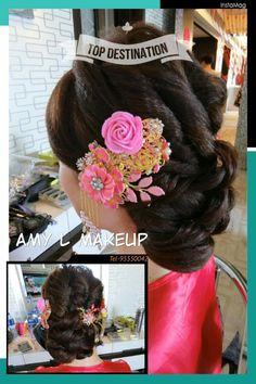 Chinese bridal headpiece B&H wedding workshop