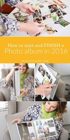 Tons of tips and advice on how to start, keep up with, and FINISH a photo album in 2016 (or anytime).  Ways to simplify memory keeping so you can actually get photos printed and in albums.  This is SO good.