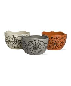 Take a look at this Halloween Prep Bowl Set by tag on #zulily today!