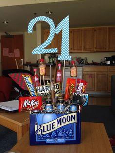 21st Birthday Idea For A Guy