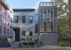 SAS Designbuild combines two facade styles for an urban Boston home