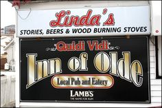 Canada's most memorable bars ! You can't get much quainter than this pub in historic Quidi Vidi, that boasts stories, beers and wood burning stoves. The bar is attached to the house of the owner-cum-bartender-cum-chef (and waitress) Linda Hennebury, who, if asked nicely, might serve you a bowl of her homemade turkey soup. Head here for fiddle music, a warm fire and good times with friendly locals. A tip for the ladies: your restroom is in the closet.