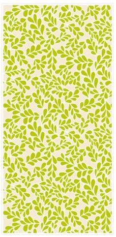 "Boxwood Chartreuse 45"" Print"