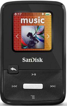 Sandisk SDMX22-008G-E46K Lettore MP3 Sansa Clip Zip, 8GB, Radio, Nero: Amazon.it: Elettronica