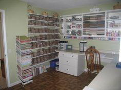 I would love this to be my craft room.