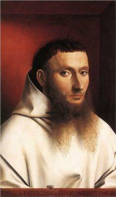 Petrus Christus - Portrait of a Carthusian