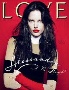 Alessandra Ambrosio for Love Magazine September 2010