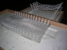 "Galería de Ganadores del ""XXIII Concurso CAP para Estudiantes de Arquitectura"" - 40 Kindergarten Design, Arch Model, Sports Complex, Roof Structure, Swimming Pools, Construction, Airports, Buildings, Board"