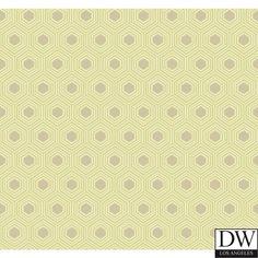 Hialea Honey Comb Wallpaper  [DLA-60526] Hampton Lattice | DesignerWallcoverings.com | Luxury Wallpaper | @DW_LosAngeles | #Custom #Wallpaper #Wallcovering #Interiors