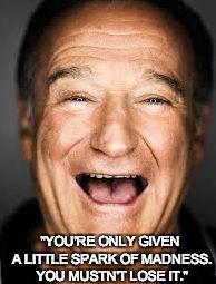 Inspiration! #RobinWilliams