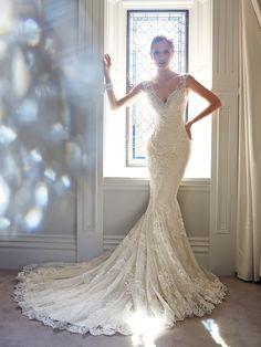 Sophia Tolli Wedding Dresses - Style Leigh Y21432 [Leigh] - $1,798.00 : Wedding Dresses, Bridesmaid Dresses, Prom Dresses and Bridal Dresses...