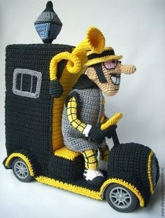 What is an Amigurumi Crochet Car, Crochet For Boys, Crochet Crafts, Crochet Dolls, Yarn Crafts, Crochet Projects, Amigurumi Tutorial, Amigurumi Patterns, Amigurumi Doll