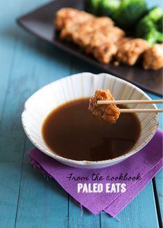 Teriyaki Sauce from Paleo Eats (AIP sub tapioca for arrowroot) - Gutsy By Nature Dairy Free Recipes, Paleo Recipes, Whole Food Recipes, Gluten Free, Delicious Recipes, Paleo Meals, Sauce Recipes, Yummy Food, Dieta Paleo