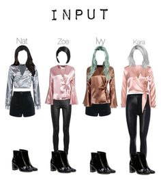 Input Award show Performance 2 by nathanaah on Polyvore featuring polyvore fashion style Boohoo Rick Owens Yves Saint Laurent clothing