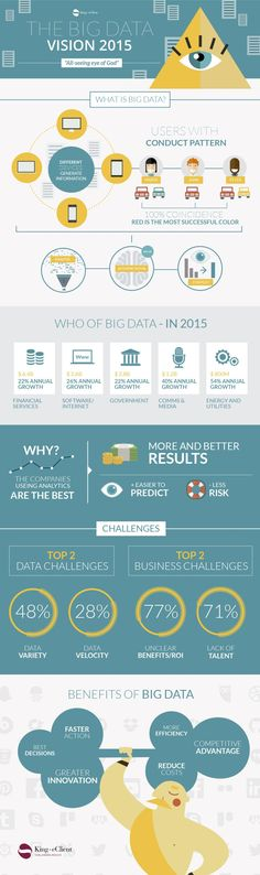 The Big Data vision 2015 #infographic