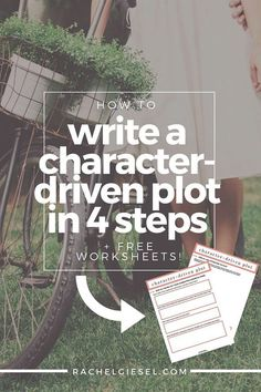 Literary fiction writers tend to avoid plot. We're trained to be plot snobs, focused only on character development and description and point-of-view amongst other things. But your story can't be plotless. Plot is tension, plot is drama, plot IS story. So we must learn to fuse plot and character seamlessly. Learn how in 4 steps and use your FREE worksheets to get started with your story.