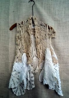 Doily vest must must make one for me!