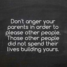 Love your parents, don't disrespect them➳ŦƶȠ➳