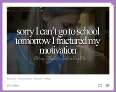The struggle of making it to school in general | Community Post: 15 Tumblr Posts That Accurately Describe The Struggles Of School