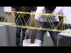 2013 Spaghetti Bridge Test - YouTube