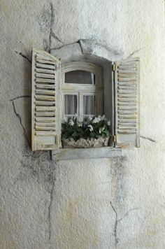 Little things: May 2012 - Balconies and windows using stryofoam follow the link to see other great ideas