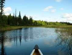Come on up to the Boundary Waters.  It's open!